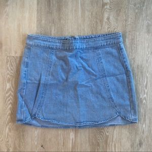 Pacsun denim pencil skirt